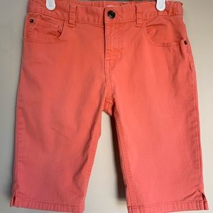 Bermuda Children's Place shorts in colour Coral